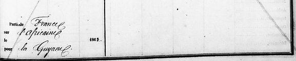 Le Goff Victoire Marie Yvonne  Bieulac pierrebagne guyane plouvien guilers