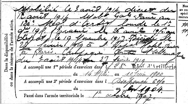 lozachmeur rene jean marie ergue gaberic paris 14-18 Finistère Non Mort France Réformé maladie tuberculose suicide fusillé accident