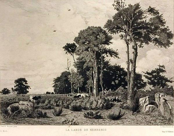 Camille Dernier. — La lande de Kerrenic.