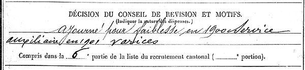 le mat sebastien cast mengleur roch 14-18 Finistère Non Mort France Réformé maladie tuberculose suicide fusillé accident