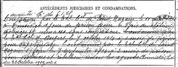 redot alan gouesnach bourlier orleansville algerie déserteur 14-18 Finistère Non Mort France Réformé maladie tuberculose suicide fusillé accident