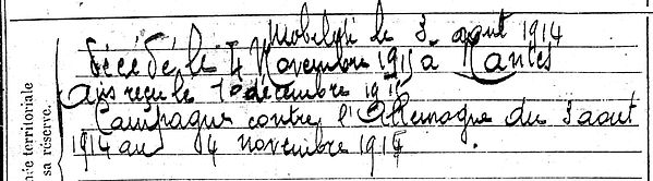guenet sebastien marie combrit nantes 14-18 Finistère Non Mort France Réformé maladie tuberculose suicide fusillé accident