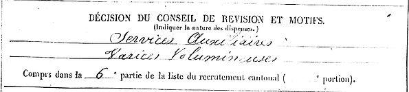 quilliou yves marie emmanuel poullaouen bourges 14-18 Finistère Non Mort France Réformé maladie tuberculose suicide fusillé accident