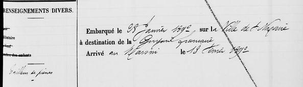 Le Baud François Marie Huelgoat finistere evade bagne guyane bagnard