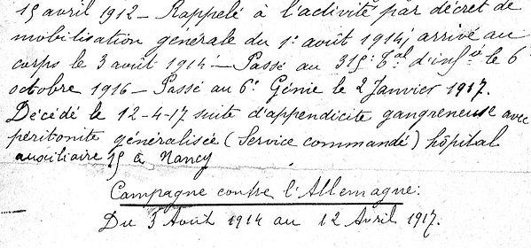Copy Joseph Lampaul ploudalmezeau patrick milan anne apprioual guerre 1914 1917 14 18 patrimoine histoire plouguin finistere saint pabu