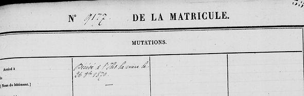 Le Vern Philippe Marie lambezellec brest condamné mort bagne guyane casabianca cayenne bagnard finistere