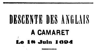 Descente des Anglais à Camaret 1694.jpg