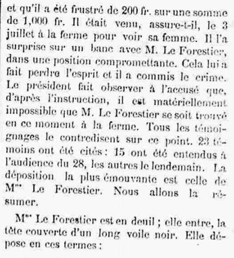 Tromeur Jean François Marie irvillac dirinon le faou bagne guyane