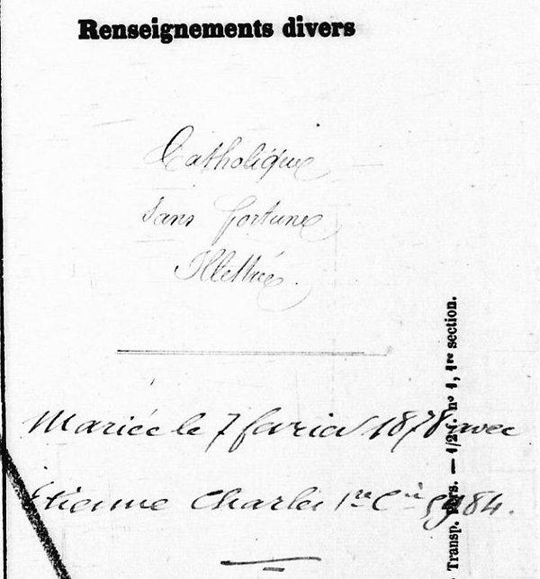 Gourlaouen Augustine Victorine etienne charles concarneau bagne nouvelle caledonie bagnard finistere