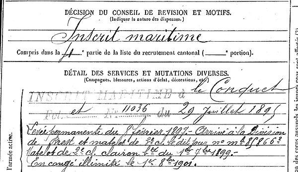 masson joseph marie plouvien clairon 14-18 Finistère Non Mort France Réformé maladie tuberculose suicide fusillé accident