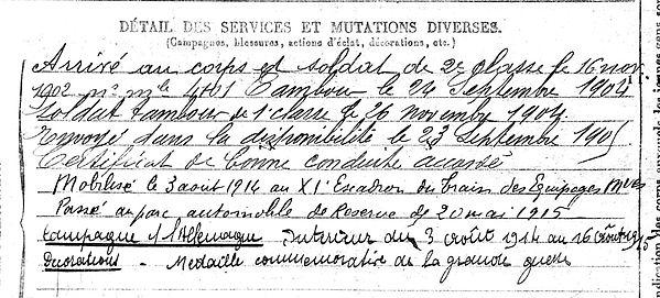 moisan moyzan alain guengat scaer 14-18 Finistère Non Mort France Réformé maladie tuberculose suicide fusillé accident