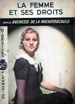 Duchesse-de-La-Rochefoucauld-La-Femme-et