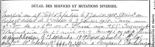 Forest Hervé Lampaul ploudalmezeau patrick milan anne appriou guerre 1914 1917 14 18 patrimoine histoire plouguin finistere