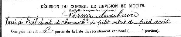 marrec pierre joseph riec sur belon quimper 14-18 Finistère Non Mort France Réformé maladie tuberculose suicide fusillé accident
