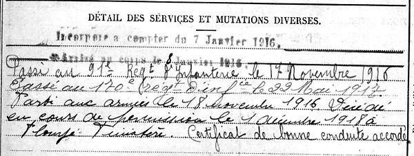 hourmant francois marie ploye 14-18 Finistère Non Mort France Réformé maladie tuberculose suicide fusillé accident