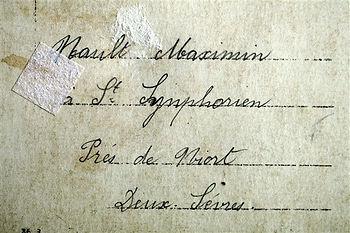 Nault Maxime saint symphorien niort Treouergat plouguin patrimoine histoire guerre 1914 1918 paris patrick milan