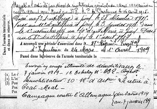 Le Fourn Vincent Lampaul ploudalmezeau patrick milan guerre 1914 1918 14 18 patrimoine histoire plouguin finistere saint pabu treouergat bretagne poilu marin