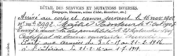 kernours mathieu port launay faou 14-18 Finistère Non Mort France Réformé maladie tuberculose suicide fusillé accident