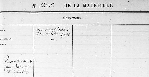 Andréo Guillaume clohars carnoet tanguy lequentrec bagne guyane bagnard