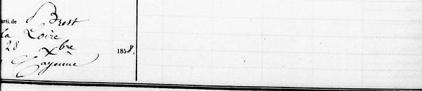 Le Parcheminal Marie Louise plougonven brest bagne guyane
