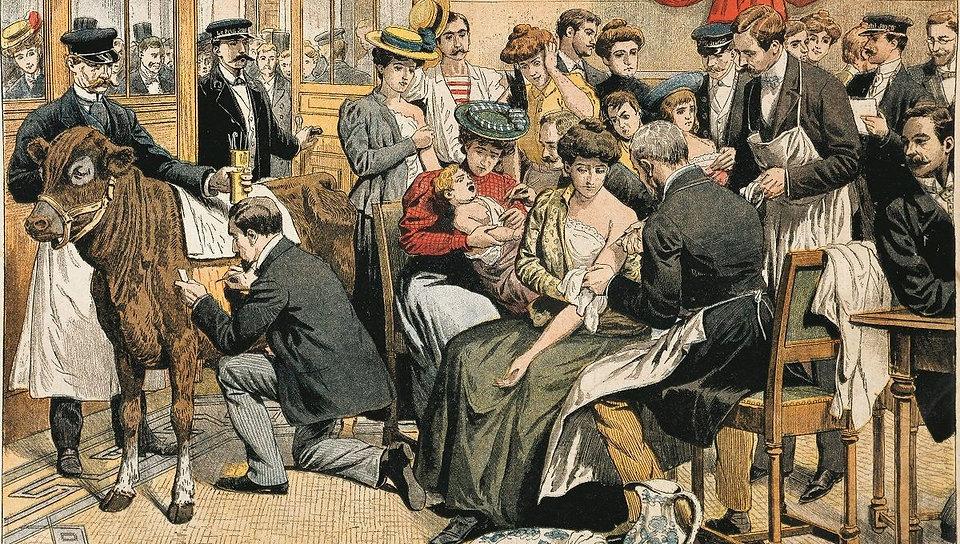 illustration de la campagne de vaccinati