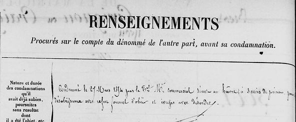 Creignoux craignou Yves le havreroscoff chapelain leoux cayenne bagne guyane bagnard finistere