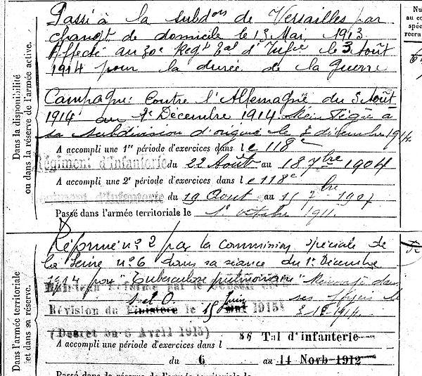 lucas jean peumerit saint cheron 14-18 Finistère Non Mort France Réformé maladie tuberculose suicide fusillé accident