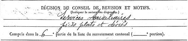 cochennec corentin plounevezel quimper 14-18 Finistère Non Mort France Réformé maladie tuberculose suicide fusillé accident