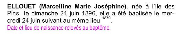 Moysan ellouet Marie Josephine brest bagne nouvelle caledonie bagnard finistere