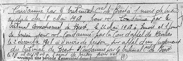 Toutous Jean Louis lanedern lennon evade evasion bagne guyane bagnard finisterepg