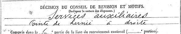 grall jean marie cleden poher bordeaux 14-18 Finistère Non Mort France Réformé maladie tuberculose suicide fusillé accident