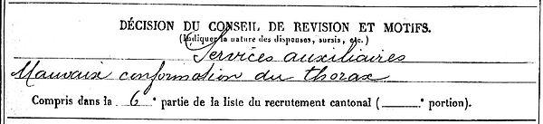 le berre pierre marie ploare mereville laxou 14-18 Finistère Non Mort France Réformé maladie tuberculose suicide fusillé accident