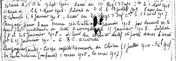 leost guillaume la martyre brest 14-18 Finistère Non Mort France Réformé maladie tuberculose suicide fusillé accident