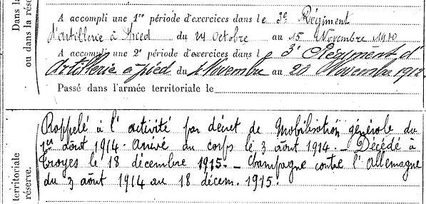 raguenes eugene yves marie loc maria plouzane troyes brest 14-18 Finistère Non Mort France Réformé maladie tuberculose suicide fusillé accident