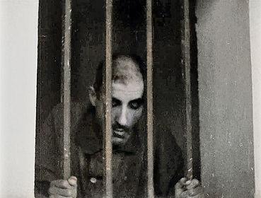 Convict in cell, Devil's Island.jpg