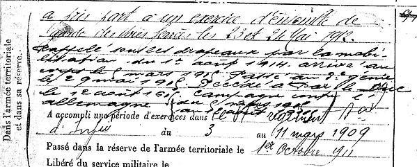 kerdraon guillaume ploudaniel bar duc 14-18 Finistère Non Mort France Réformé maladie tuberculose suicide fusillé accident