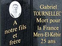 Gabriel Tournellec Plouguin Patrimoine Histoire Mers El Kébir Bretagne naufrage
