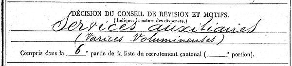 benez pierre saint vougay brest landerneau 14-18 Finistère Non Mort France Réformé maladie tuberculose suicide fusillé accident