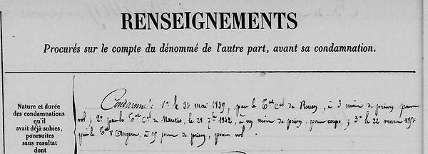 Fourgny Auguste plomelin angers huchet marion bagne guyane bagnard finistere