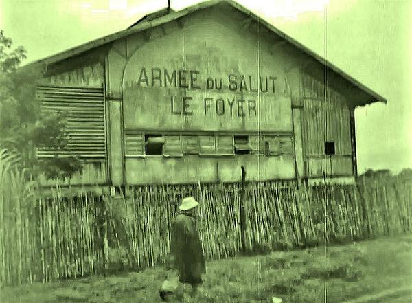 Salvation Army building in Cayenne, Fren