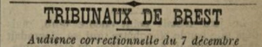 Thomas François le nan plouider lanildut jaouen bagne guyane bagnard finistere