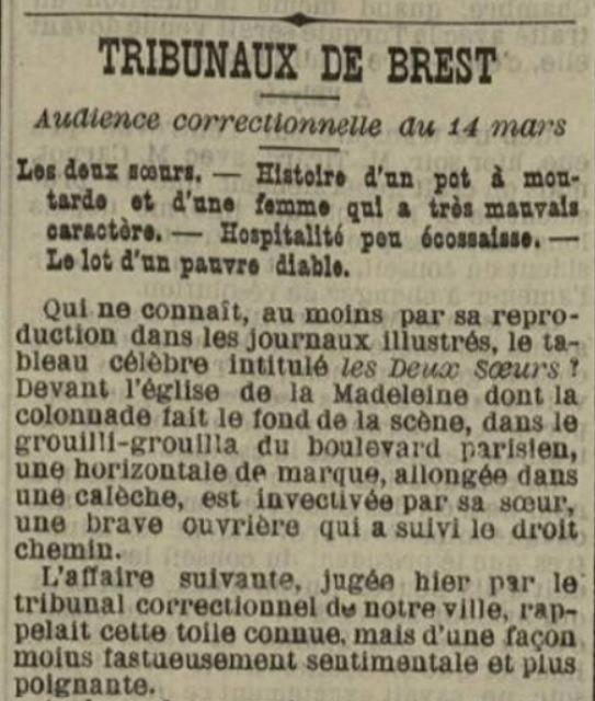 Guyader Francoise guiclan prostitue bagne nouvelle caledonie boras bagnard finistere