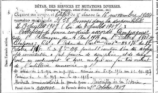 le ber jean marie baye plomeur 14-18 Finistère Non Mort France Réformé maladie tuberculose suicide fusillé accident