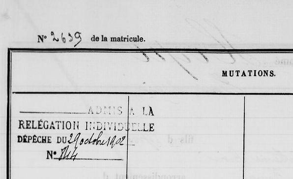 Herpe Henri Marie plouyé brest riou bagne guyane bagnard finistere mesguen