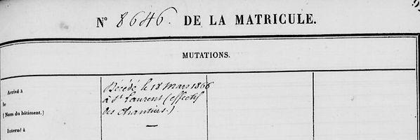 Duchesne Eugène Adolphe saint louis maroni guyane bagn bagnrd brest