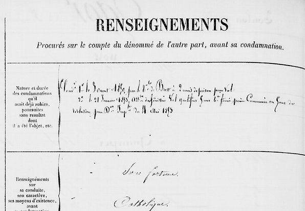 Ogor François plouguerneau saint pabu bagne guyane saliou crime