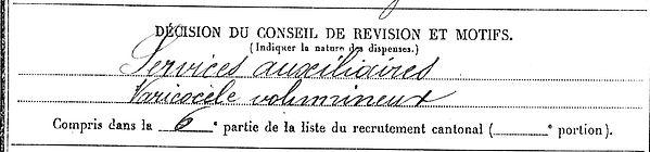 miry jean paul plouzevede nantes 14-18 Finistère Non Mort France Réformé maladie tuberculose suicide fusillé accident