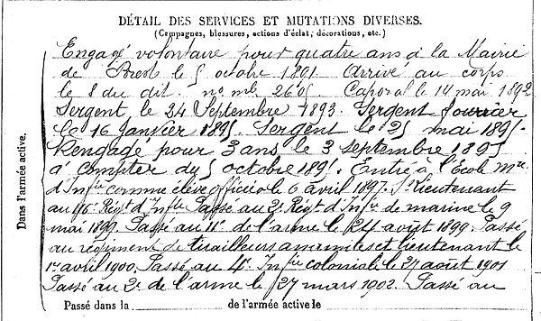 corcuff victor louis celestin chateaulin castres 14-18 Finistère Non Mort France Réformé maladie tuberculose suicide fusillé accident