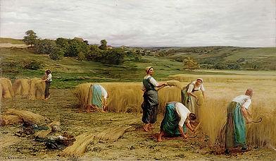 Leon Augustin Lhermitte - Harvest 1874