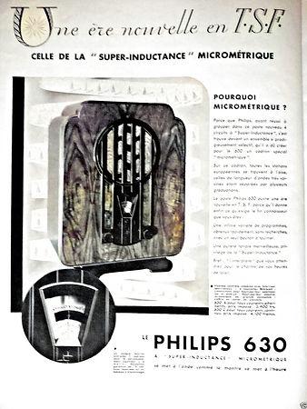 TSF Publicité-De-Presse-1932-Philips-Une